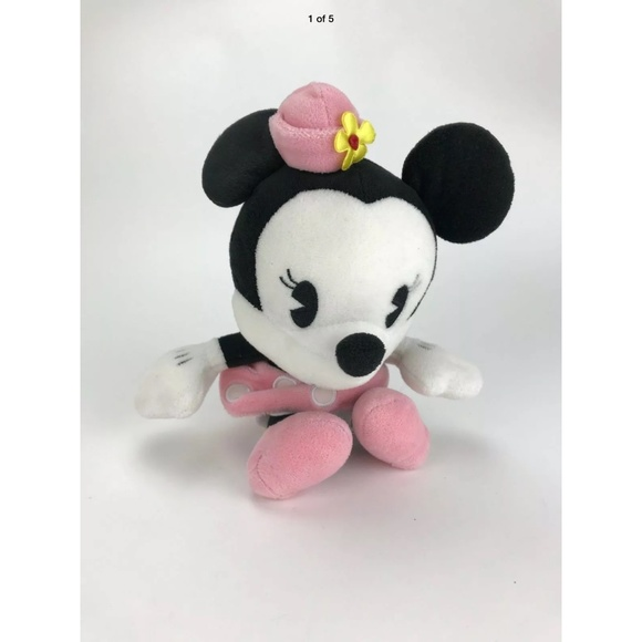 Disney Parks Minnie Mouse Bobble Head 8""